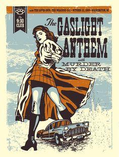 El Jefe Design, Gaslight Anthem