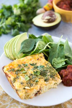 Last year I made Faith's baked Denver omelet and, after I tasted it, mentally smacked my forehead and wondered why I didn't make something like this more often. A baked omelet is essentially a crustless quiche — substantial enough to be a filling breakfast, without the heaviness of the added crust in a quiche. My latest version is filled with spicy Mexican chorizo and pickled jalapeños!