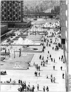 Dresden, Prager Straße, 1975