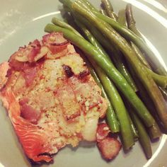 It's got bacon. And salmon. Sold! Sweet & Salty Bacon Salmon