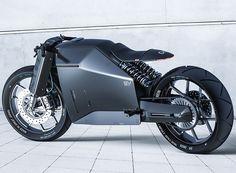Japan Carbon Fiber Motorcycle Concept