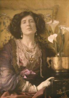 Lady Ottoline Morrell, - Baron de Meyer Portrait 1907