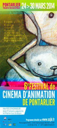 Festival de cinéma d'animation. Du 24 au 30 mars 2014 à Pontarlier.