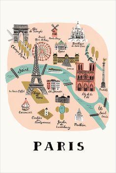 PARIS - RIFLE PAPER - Mokkasin