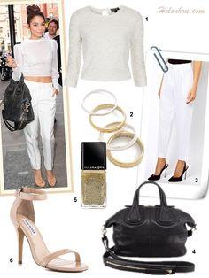 Daytime Glamour: Crop Top