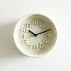 小さな時計(アイボリー)