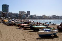 Playa de Las Canteras - Las Palmas de Gran Canaria by El coleccionista de instantes