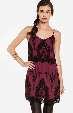 Berry Collection: burgundy & black lace