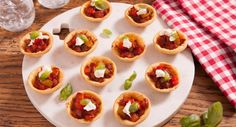 They might be small but these Tomato, Basil & Goat's Cheese Tarts are full of flavour! Cheese Tarts, Goat Cheese, Shortcrust Pastry, Fresh Basil Leaves, Best Italian Recipes, Tomato Basil, Spring Recipes, Bite Size, Starters