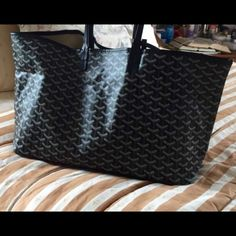 Goyard Tote Brand new large Goyard tote! Never used. Willing to negotiate along with items Goyard Bags Totes