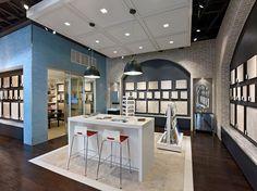 Patina Flooring Store by Envirosell Inc Dallas Patina Flooring Store by Gensler, Dallas Shop Front Design, Store Design, Retail Concepts, Flooring Store, Design Blog, Design Ideas, Healthy Living Tips, Breakfast For Kids, Floor Design