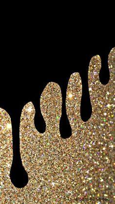 Glitter Drip Wallpaper