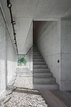 how I love the staircase, not distracting, but blending perfectly into its environment