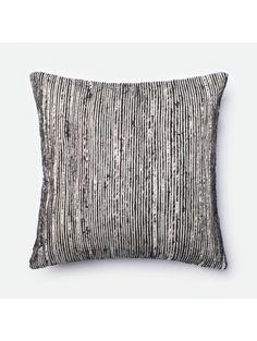 Purlieu Pillow, Black