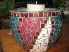 Mosaic Pots, Vase, Furniture, Home Decor, Decoration Home, Room Decor, Home Furnishings, Vases, Home Interior Design