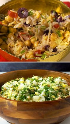 Lunch Recipes, Healthy Dinner Recipes, Salad Recipes, Pasta Recipes, Healthy Chicken Dinner, Easy Healthy Breakfast, Healthy Food Blogs, Heart Healthy Recipes, Easy Cooking