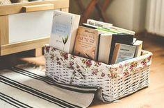 Cestinha p/ livros