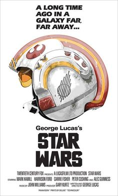 Star Wars Poster. based ont he artwork for Stanley Kubrick's 'Full Metal Jacket'