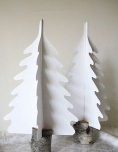 »Stun with minimal Christmas trees« #christmas #christmasiscoming #christmastree #minimal