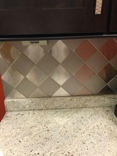 re vamping the kitchen copper tile backsplash. Black Bedroom Furniture Sets. Home Design Ideas