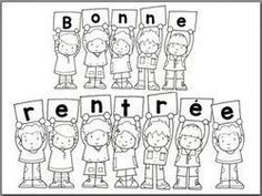 Bonne rentrée Bonne rentrée - Back To School School Life, School Fun, First Day Of School, School Ideas, French Classroom, School Classroom, Back To School Activities, Book Activities, French Flashcards