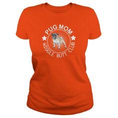 PUG MOM t shirt