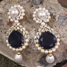 Adaa Earrings by Indiatrend. Shop Now at WWW.INDIATRENDSHOP.COM