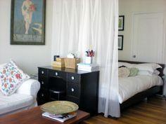 bedroom living room combo