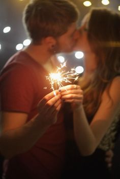 """The ultimate New Year's Eve kiss will probably always be the moment in When Harry Met Sally when Billy Crystal tells Meg Ryan, """"I came here because when you realize you want to spend the rest of your life with somebody, you want the rest of your life to start as soon as possible."""""""