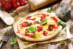 GMA: Rocco DiSpirito's Whole Wheat Pizza Margherita Recipe