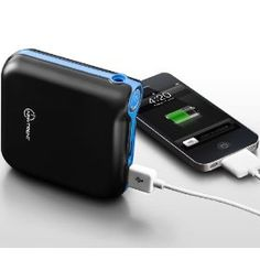 New Trent IMP120D iCarrier 12000mAh Heavy Duty 2A/1A Dual USB Ports External Battery Pack for the Latest Apple iPhone 5, the new iPad, iPad2, iPhone 5/4S/4/3Gs/3G, iPod Touch all versions; Samsung Galaxy Note/Nexus/S3/S2/S; HTC Titan, Sensation, ONE S/V/X, EVO Thunderbolt, Desire; LG Optimus series; Blackberry Bold, Curve, Torch; Motorola Razr HD/MAXX & Bionic, Atrix/2; Nokia Lumia 700/800/900 and GoPro (IMP120D: iCarrier is the upgraded version of the IMP1000: iCruiser)