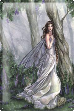 Blechschild Selina Fenech Feen Fantasy Kunstwerke Göttin Meerjungfrau Wald Spaziergang 20x30 cm: Amazon.de: Küche & Haushalt
