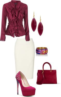 """""""It's a plum day"""" by bsimon623 on Polyvore"""