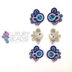 Encargo listo !  #soutache #earrings #handmade #aretes #luxurybeads