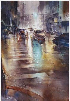 A Great City Scape Painting - www.Art-Competition.net