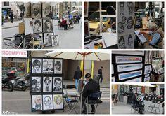 #Artisti di strada a #Barcellona
