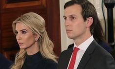 Ivanka Trump and Jared Kushner in 2017. The couple appears to be facing an uncertain future in the White House.