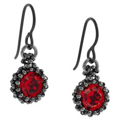 Red Baubles Earrings