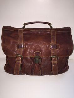 GAZ washed leather bag