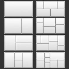 Lightroom presets: photo collage template presets for blogs