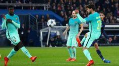 #موسوعة_اليمن_الإخبارية l هزيمة قاسية لبرشلونة على يد باريس سان جرمان