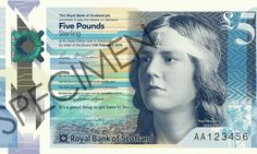 The Living Mountain author Nan Shepherd to feature on Scottish bank note #inewsphoto