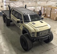 Is this even legal? Where can we find this? Ford F-450 6X6 Patriot Beast