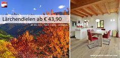 Den Herbst ins Haus holen -Lärchendielen ab 43,90