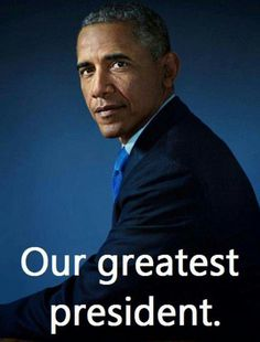 And he is still considered  to be our last hope! God bless you President Obama!