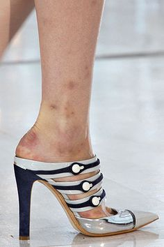 Check Out How Models' Feet Look After a Month of Shows