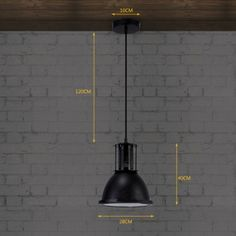 """Retro and Mysterious Black Wrought Iron Brilliant Design Industrial Country Light in 11""""Wide"""