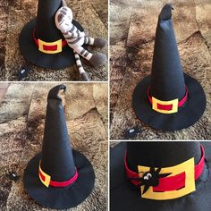 Cadı şapkası el işikeçe. Kasım 2016 Küçük Fide'me.
