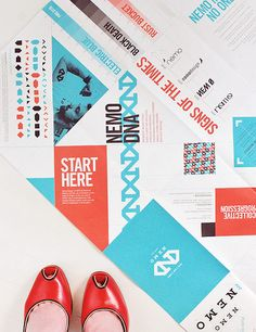 Nemo Design Rebrand Double-Sided Promo Poster by @Shauna Haider | http://nubbytwiglet.com/2012/07/10/the-typofiles-111-nemo-design-rebrand/