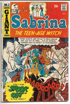 Sabrina-the-Teen-Age-Witch-5-1972-Archie-Comics-GD-RARE